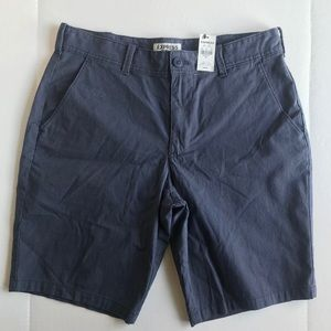 Express Shorts - NWT Men's Express Shorts Navy Blue Stripe